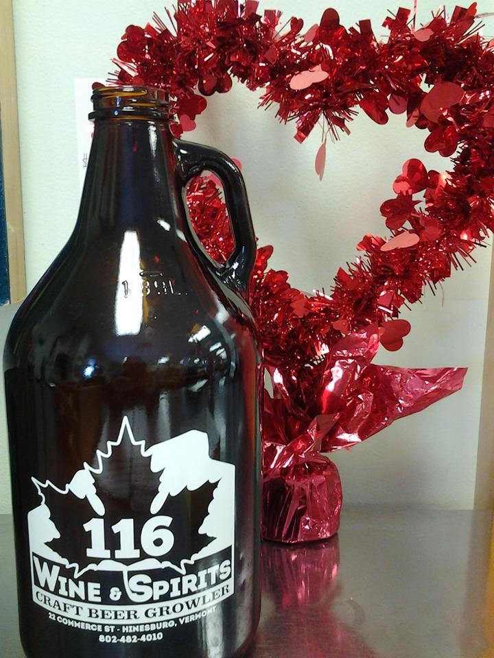 116 Wine & Spirits Growler in use