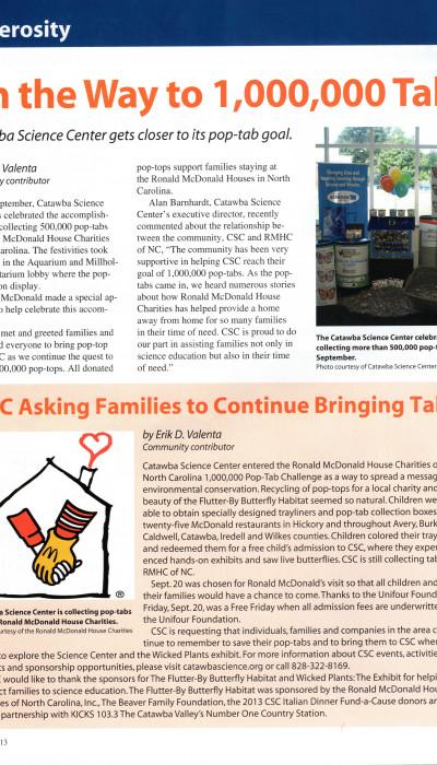 Conover Magazine Article