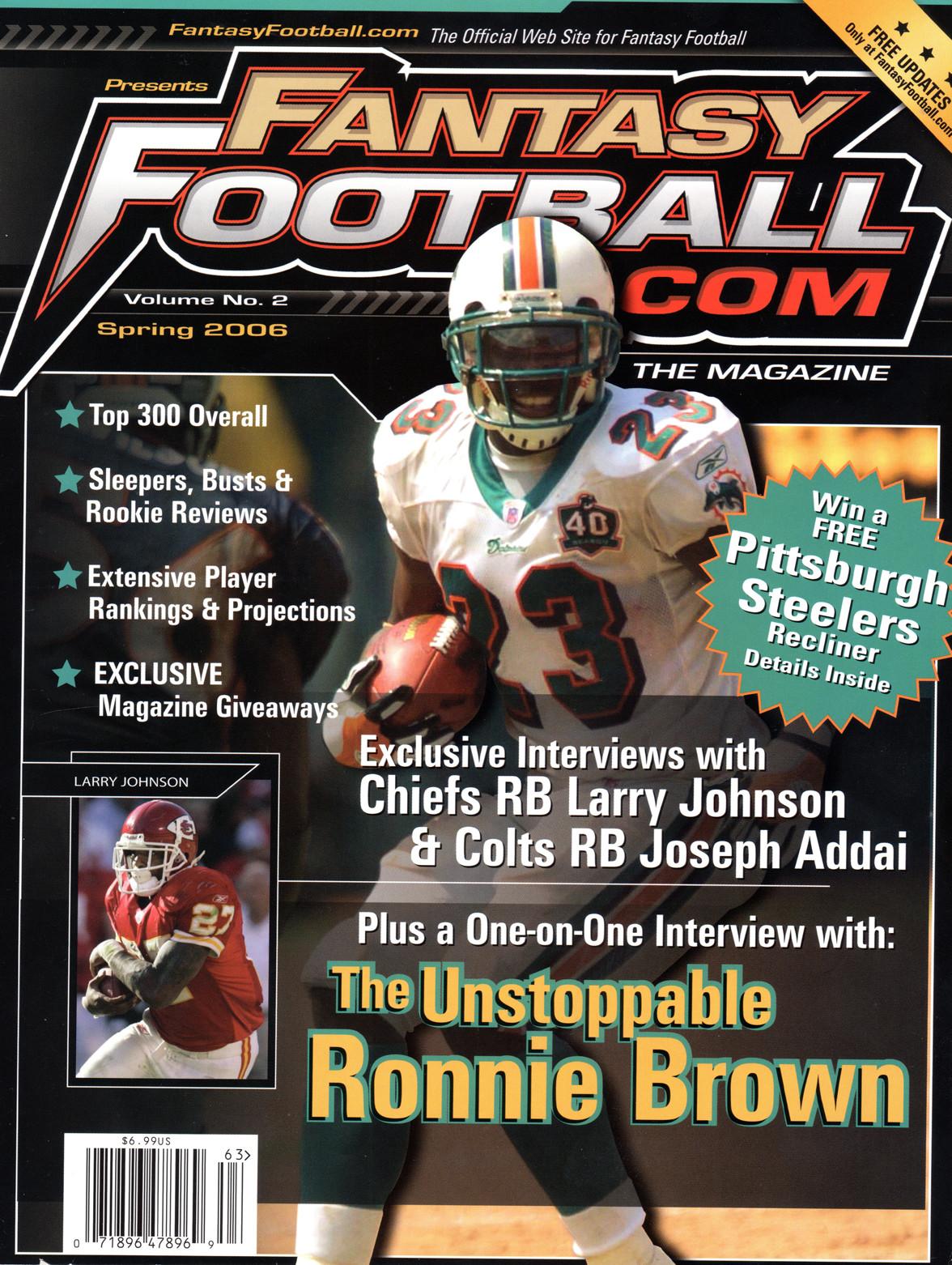 FantasyFootball.com Cover